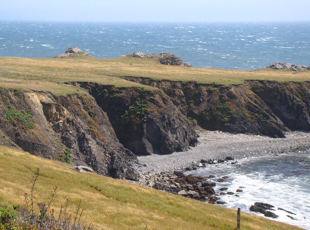 Coastal landforms thinglink for Terrace landform