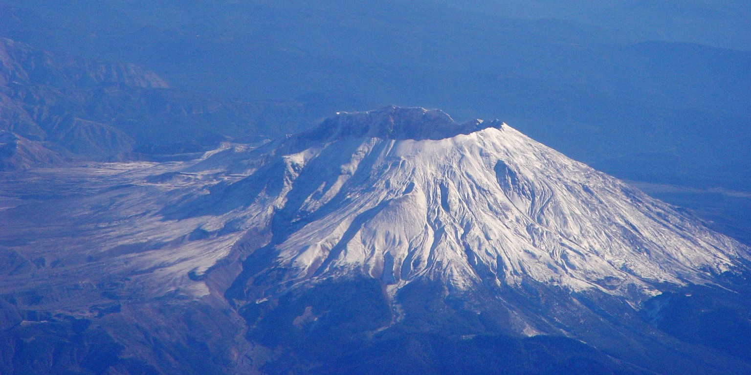Mt. St. Helens from the east