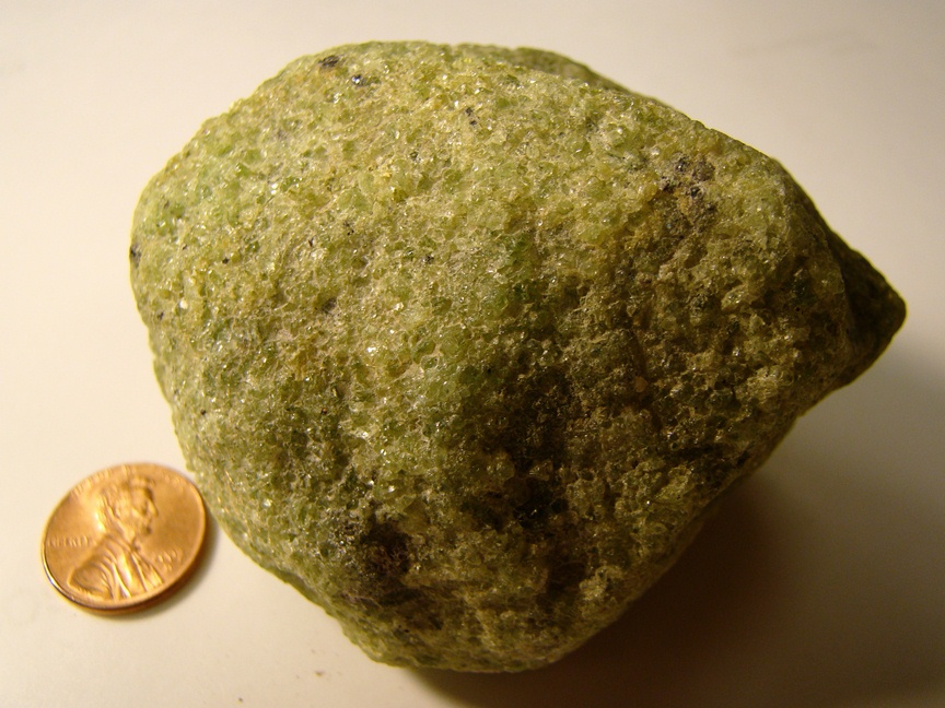 Polished Olivine Basalt Co : Minerals