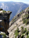Joint controlled topography at Taft Point and Three Brothers